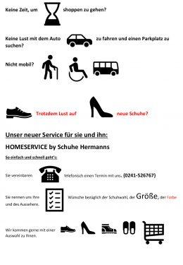 Aktionen | Schuhhaus Hermanns in Aachen Brand und Eschweiler